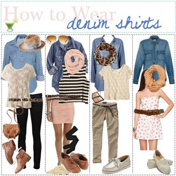 3 different ways to wear your denim shirt. – eaglemedia.co.za
