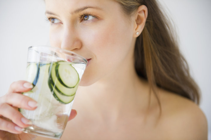 Drinking water is very important when it comes to skin care